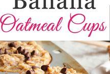 Oatmeal + real food snacks