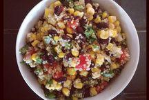 Fists rice salad