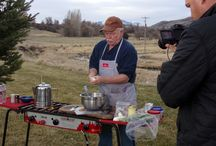 """The Sporting Chef"" Photos / Photos of dishes Cee Dub prepared for segments in the Third Season of ""The Sporting Chef"" w/ Scott Leysath to begin airing Fall of 2015 on the Sportsman's Channel."