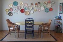 muros con platos