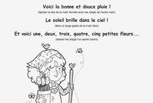 (Maternelle) Comptines & Jeux de doigts