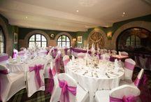 The Bear of Rodborough - Venue decorations / Chair covers, sashes and venue decorations at The Bear of Rodborough in Stroud