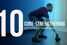 Kettlebell Core Strengthening