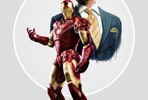 • Iron man | Tony Stark • / I am Iron Man.