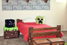 Minecraft room for boys