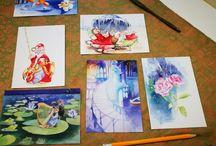 Fine Art Postcards