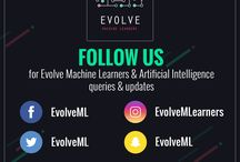 Evolve Machine Learners / Evolve Machine Learner's latest updates and happenings can be found here. It is an Artificial Intelligence and Machine Learning bootcamp, that take your skills to next level. We aim to help you revolutionize your business and skills.
