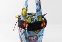 Lunch box bag / Carry your lunch in style with these cute and colourful lunch box bag.