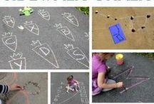 Learning with Sidewalk Chalk