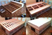 ♥ Diy Platform Bed ♥ / Diy Platform Bed / by Pam Renetta