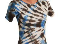 Dámska batikované tráčká od duBatik.sk / Ladies tie dye t-shirts made by duBatik.sk / Pánske batikované tráčká od duBatik.sk / Ladies tie dye t-shirts made by duBatik.sk