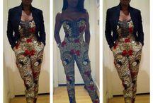 Idées tenues africaine