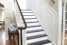 wall panels stairs