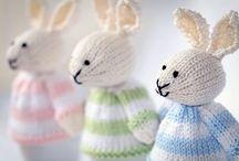 Bunnies, Easter, Spring