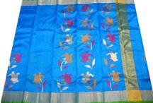 Pure Silk Chanderi Sarees