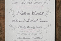 WEDDING | STATIONERY & PRINT / INSPIRATION FOR YOUR WEDDING STATIONERY
