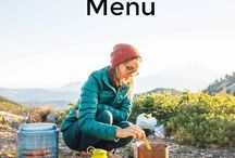 Backpacking cooking and recipes