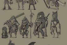 Diseño personajes, character design, design de persoagens