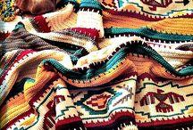 Tapestry Crochet Blankets