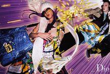Dior ad campaign FW 2001