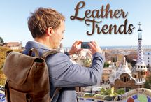 Leather Trends / Features collections from Andrew Philips, Westbridge,The Metro Collection and The Italian collection by Ciak.
