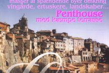 Feriebolig i Orte, Italien Middelalder bjergby ½ time nord for Rom / Orte ligger på et fladt plateau på en bjergtom, hvor floden Tiberen snor sig nedenfor gennem et frodiggrønt landskal, og bjergkæden Abruzzo i det fjerne. Et spændende område med rigtig mange seværdigheder. Se mere på www.lazio.dk