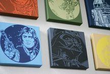 Star Wars Bedroom / by Lisa Purko