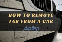 How To Remove Tar From A Car