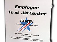 First Aid Cabinets / In your vehicle, in your home, on the job, have first aid supplies readily available