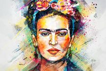 Frida Kahlo / by Beatrix Varga