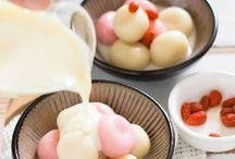 Japanese Korean desserts