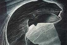 Whaling ( Art printmaking)