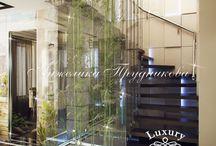 Дизайн-проект многоуровневой квартиры в стиле Ар-Деко в ЖК Белый город / Дизайн для этой многоуровневой квартиры в ЖК Белый город разработан студией Анжелики Прудниковой. Благодаря стилю ар-деко интерьер дома объединил в себе функциональность, красоту и уют. Дизайнеры студии постарались реализовать проект многофункционального и стильного дома для комфортной жизни.