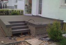 WPC terasa / #woodparket #realizace #terasy #zahrada #wpc