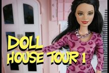 Barbie Dollhouses / by Lolas Mini Homes