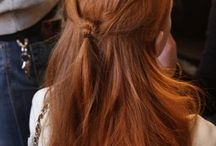 Frisyrer, färger o håruppsättningar
