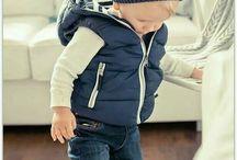 Toddler puffer jackets
