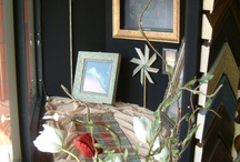 """Our Store Displays~ www.thelagallery.com / Window Displays and In-Store """"Vignettes"""" we have created over the years."""