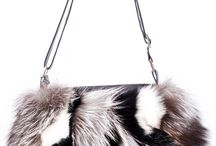Haute acorn fur handbags