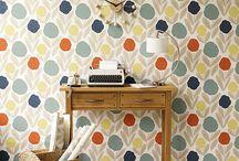 Обои в стиле ретро / В современном мире дизайна интерьеров стиль  ретро стал своего рода классикой.