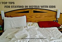 Travelling With Kids / Travelling with children and finding accommodation that is child friendly. Places to go with kids