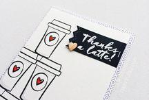 Inspiration - Coffee Cards
