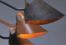 lampada cuoio
