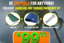 Exclusive Hurricane and Tornado Emergency Kit / exclusive emergency kit