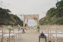 Beach Weddings / Dig your toes in the sand as you connect with your Lover in your Beach Wedding Ceremony!