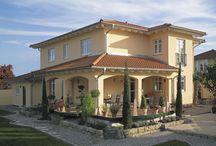 mediterrane Häuser