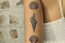 Shell tattoos