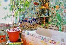 bohemian hippie home