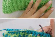 crochet bernie