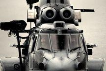 helicopteros y aviones